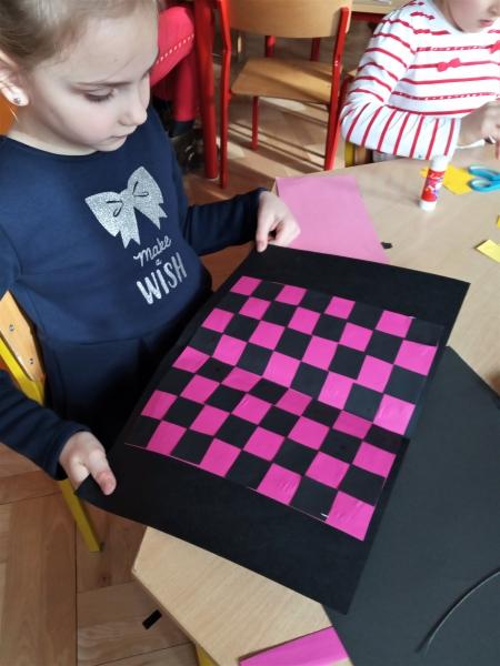 Kolorowe szachownice