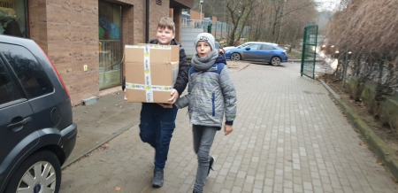 Piękny finał uczniowskiej akcji dla Ciapkowa